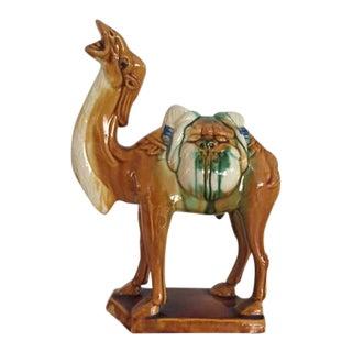 Vintage Tang Style Porcelain Camel