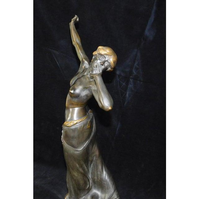 Art-Nouveau Bronze Sculpture Salome ~ Rudolf Marcuse Gladenbeck & Sohn Foundry For Sale - Image 11 of 11