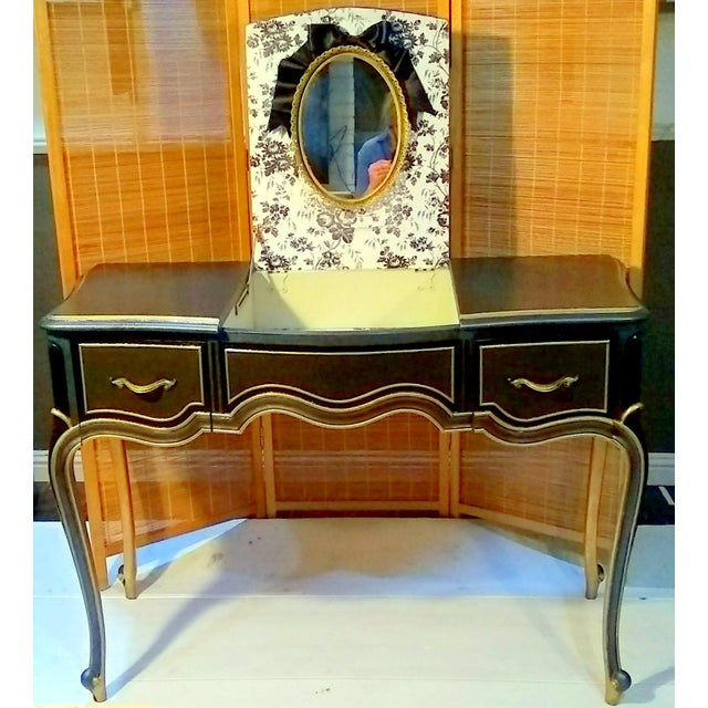Drexel Touraine French Provincial Vanity Desk - Image 11 of 11