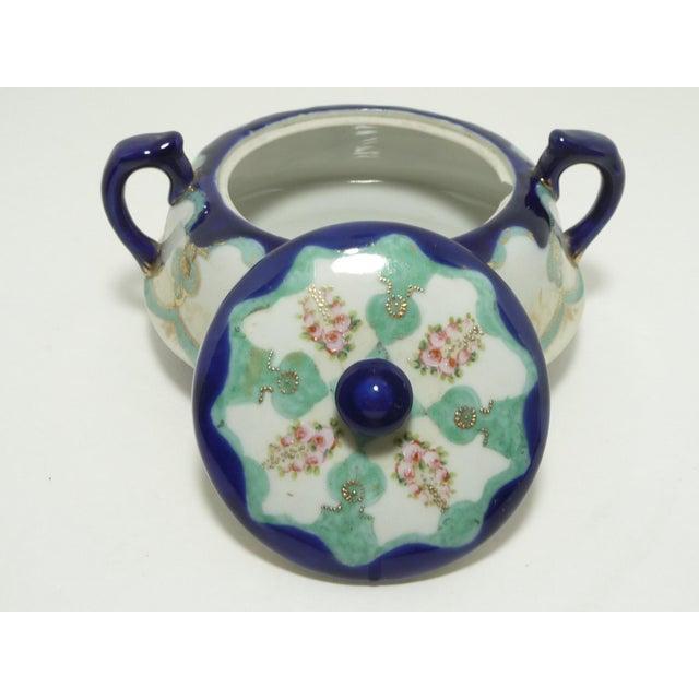Antique Nippon Biscuit Jar - Image 4 of 7