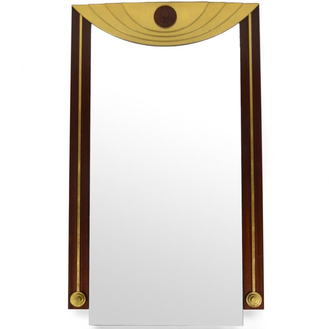 Glass Post-Modern Wall Mirror For Sale - Image 7 of 7