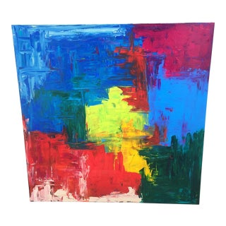 Colorful Extra Large Abstract Artwork For Sale