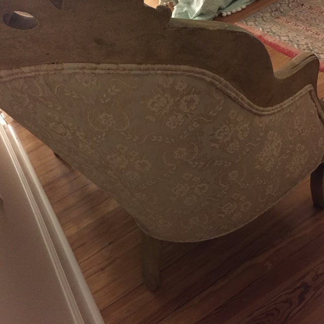Vintage French Shabby Chic Settee - Image 8 of 9