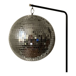 Vintage 1970s Rotating Disco Ball For Sale
