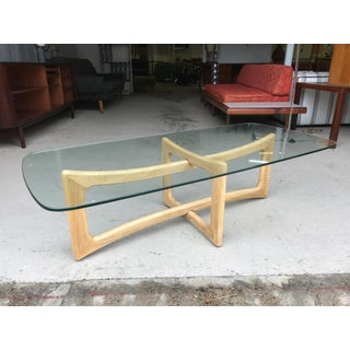 Restored! Adrian Pearsall Craft Associates Oak Coffee Table Preview