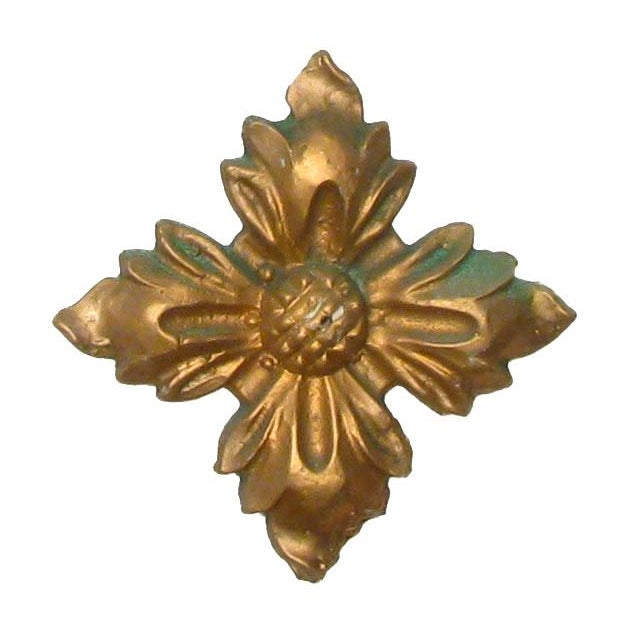 Italian Gilt Plaster Elements - Set of 6 For Sale - Image 4 of 4