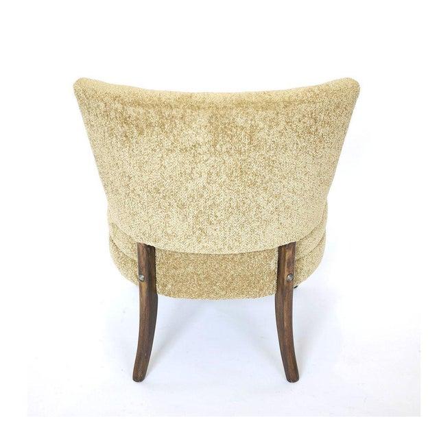 Mid-Century Modern Original Hollywood Regency Kroehler Slipper Chair For Sale - Image 3 of 5