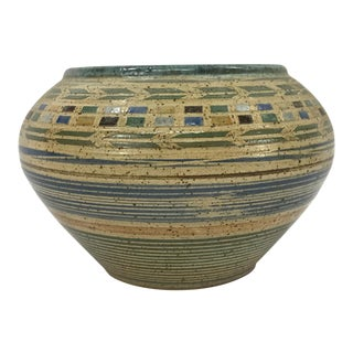 Southwestern Studio Pottery Vessel For Sale
