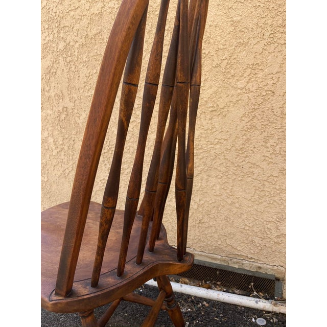 Antique Windsor Side Chair For Sale - Image 10 of 12