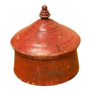 Old Tibetan Tikka Box For Sale