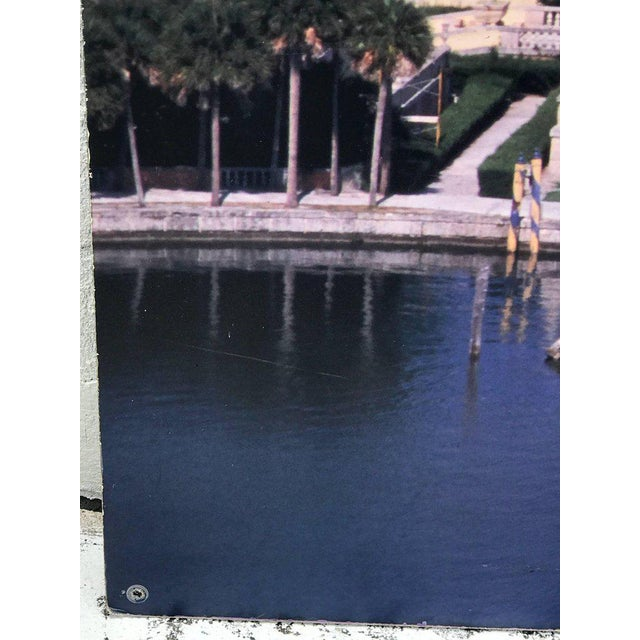 White Monumental Photographic Print of Villa Vizcaya, Deaccessioned From Vizcaya For Sale - Image 8 of 13