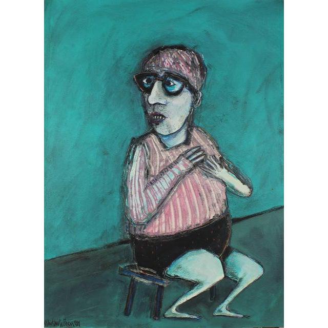 1981 Kjell Erik Killi Olsen Self Portrait Painting For Sale