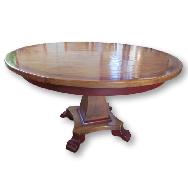 Round Farmhouse Dining Set - Image 5 of 11