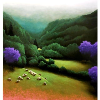 """Fredrick Stephens """"In the Valley Below"""" For Sale"""
