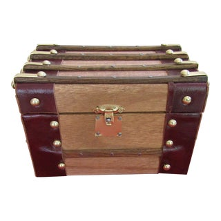 Jewelry Storage Trunk Box For Sale