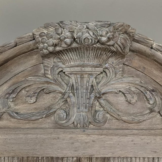 18th Century Dutch Tambour Stripped Oak Secretary ~ Bookcase For Sale - Image 12 of 13