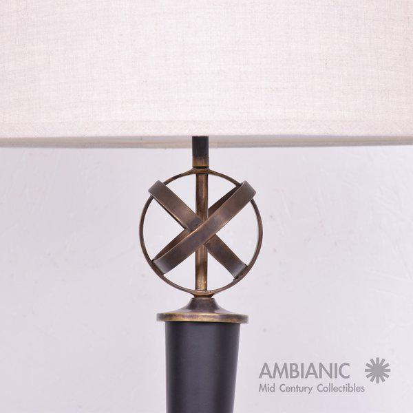 Mid-Century Period Regency Style Table Lamp Attributed to Arturo Pani - Image 6 of 10