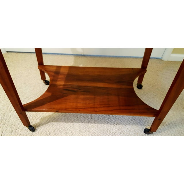 Mid-Century Teak Serving Cart - Image 5 of 6