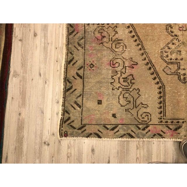 Nomadic Handmade Antique Vintage Rug For Sale - Image 10 of 11