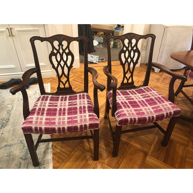 Antique Chippendale Dining Chairs - Set of 10 For Sale In Boston - Image 6 of 12