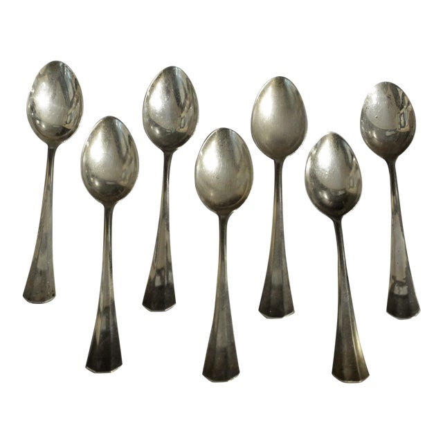 Demitasse Spoons - Set of 7 For Sale