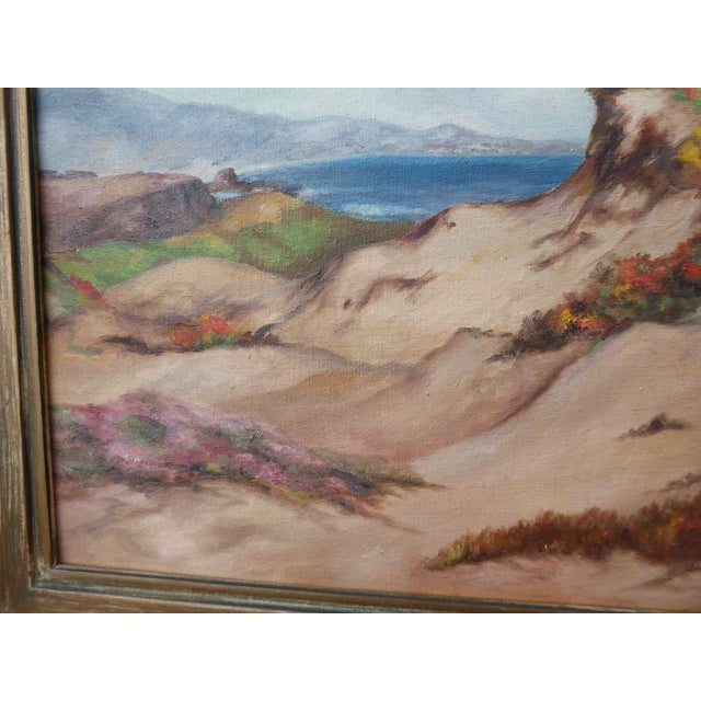 """""""Montaña De Oro State Park"""" Oil Paintings - A Pair For Sale - Image 4 of 11"""