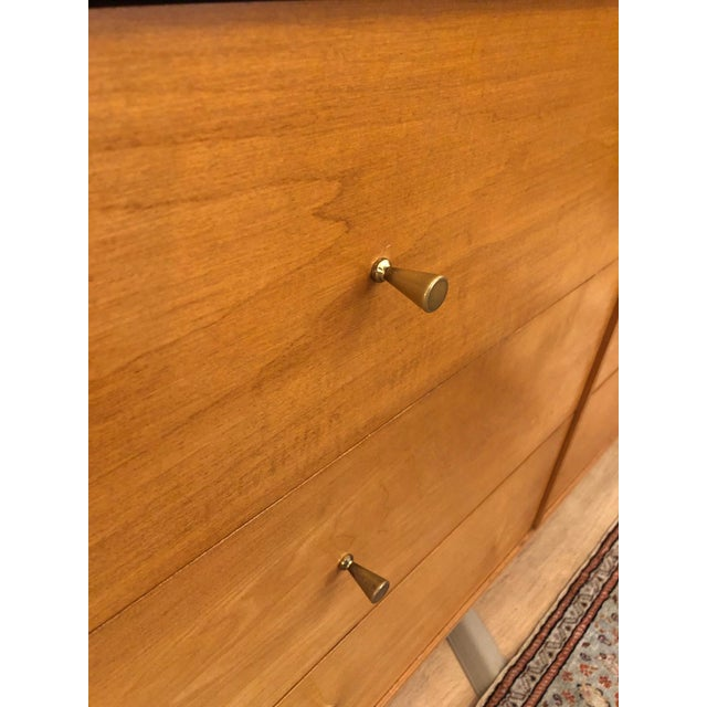 1960s 1960s Mid-Century Modern Paul McCobb Solid Maple Lowboy Dresser For Sale - Image 5 of 9
