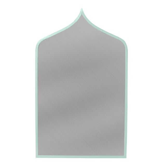 Contemporary Stray Dog Designs for Chairish Marrakesh Mirror, Light Blue For Sale - Image 3 of 3
