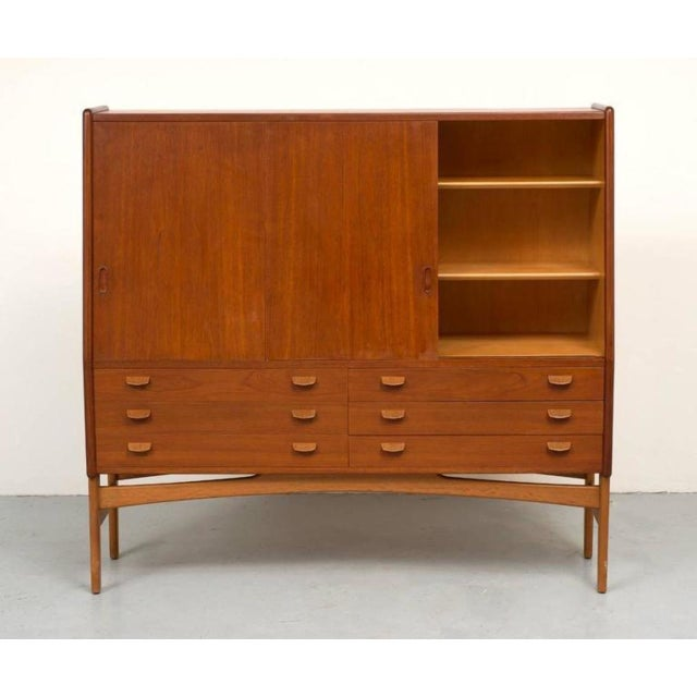 Poul Volther Tall Teak Cabinet - Image 5 of 10