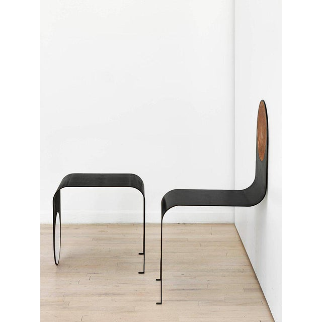 The juxtaposition between the playful, anthropomorphic design of the thin chair and its subtle form and detailing, results...
