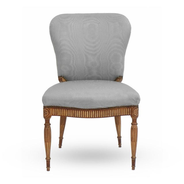 Adam Style Side Chair For Sale In New York - Image 6 of 6