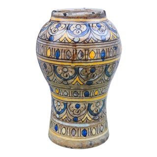 Moroccan Ceramic Vase For Sale