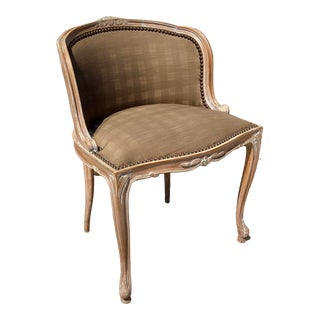 French Louis XV Vanity Chair For Sale