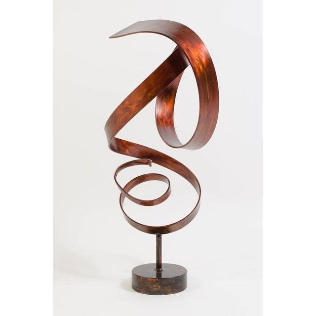 Hephaestus by Joe Sorge, Patinated Steel Sculpture - Image 2 of 9