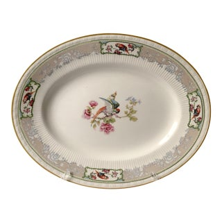 Early 20th Century Antique Staffordshire Transferware Platter For Sale