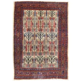 Willow and Cypress Garden Bidjar Carpet For Sale