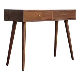 Walnut Mid-Century Style Desk