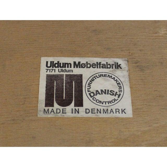 Johannes Andersen Uldum Danish Modern Teak Dining Chairs - Set of 8 For Sale - Image 11 of 12