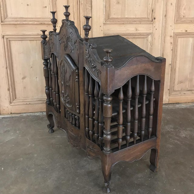 Brown 19th Century Country French Provincial Pannetiere For Sale - Image 8 of 13