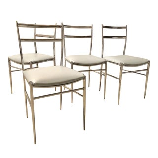 Gio Ponti Superleggera Stryle Chairs - Set of 4