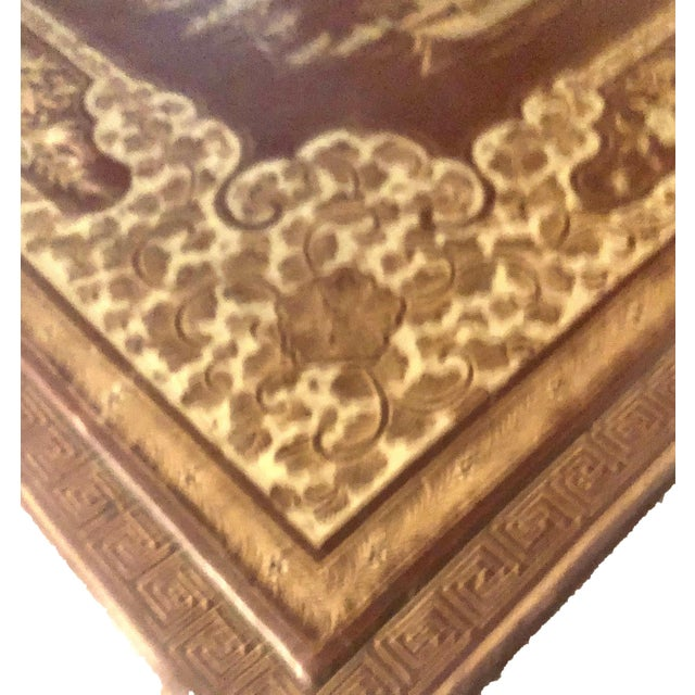 This early 19th century Chinese export box probably held a robe or had sweets in it like cookies and candy. It is a...