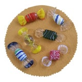 Image of Vintage Murano Glass Candy - Lot of 6 For Sale