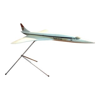 1980s Travel Agency Scale Model of Concorde For Sale