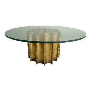 Silas Seandel Mid-Century Brutalist Cocktail Table For Sale