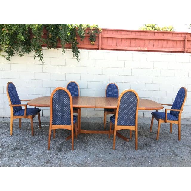 Mid-Century Dyrlund Teak Dining Set - Image 8 of 11
