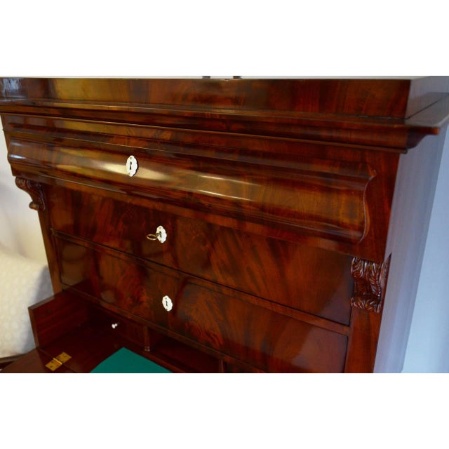 Antique Biedermeier chiffonier For Sale - Image 4 of 9