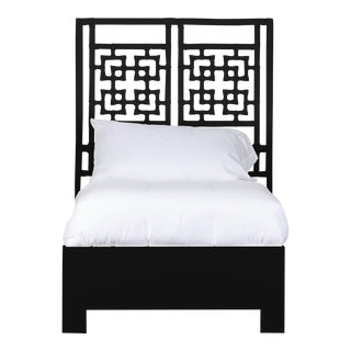 Palm Springs Bed Twin Extra Long - Black For Sale