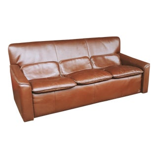 Leolux Leather Sofa For Sale