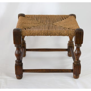 Early English Oak and Cording Footstool Preview