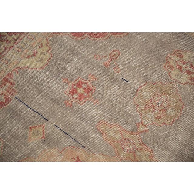"Textile Vintage Distressed Sivas Rug - 4'10"" X 7'7"" For Sale - Image 7 of 12"